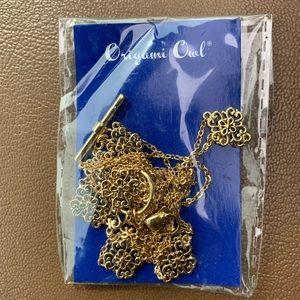 "NIP Origami Owl Gold Tone Convertible Chain 18""-36"
